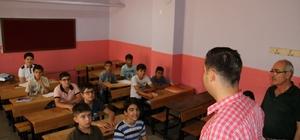 Başkan Gülenç, DYK kurslarını ziyaret etti