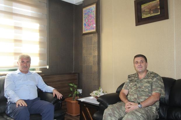 Yeni İl Jandarma Komutanı Kiper, Bayburt Belediye Başkanlığı'nda