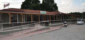 Simav'da panayır alanına 200 kişilik restoran