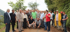 Başkan Sağıroğlu İkisu'da incelemelerde bulundu