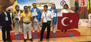 Devrekli genç sporcular madalyaya doymuyor