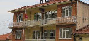 Hisarcık Belediye otelinde bakım, onarım çalışması