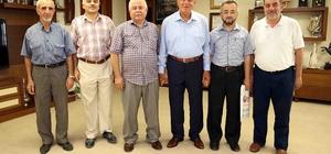 Başkan Karaosmanoğlu, ziyaretçilerini ağırladı
