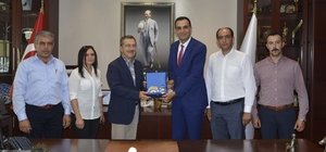 Türk Metal Sendikası'ndan Başkan Ataç'a ziyaret