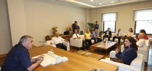 Başkan Toçoğlu, AKOM'da Kültür ve Turizm Bakanlığı uzmanlarını ağırladı