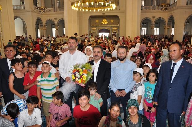Çocuklar Nur Cami'yi doldurdu