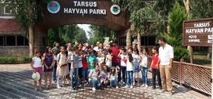 Akdenizli öğrenciler hayvanat bahçesini gezdi
