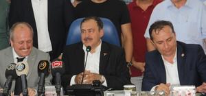 Orman ve Su İşleri Bakanı Veysel Eroğlu;