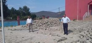 Tatvan'daki okullarda tadilat çalışması