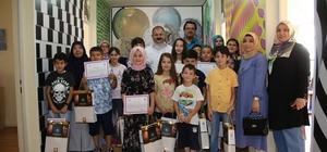 Deneme ve Bilim Merkezi öğrencileri sertifikalarını aldı