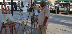 """Osmaniye'de """"Kudüs"""" temalı resim sergisi  açıldı"""