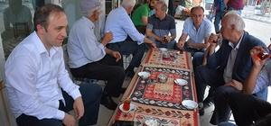 Başkan Epcim, esnaf ve vatandaşlarla bir araya geldi