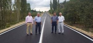 Başkan Murat Çakır: Köy yollarımızdaki çalışmalarımız aralıksız devam ediyor