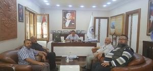 Müftü ve imamlardan Başkan Yalçın'a ziyaret