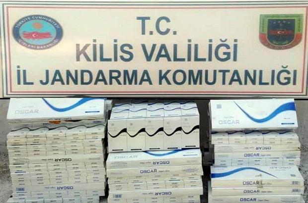 300 paket kaçak sigara ele geçirildi