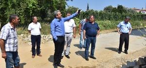 Nazilli Belediyesi çalışmalarına Yıldıztepe Mahallesinde devam ediyor