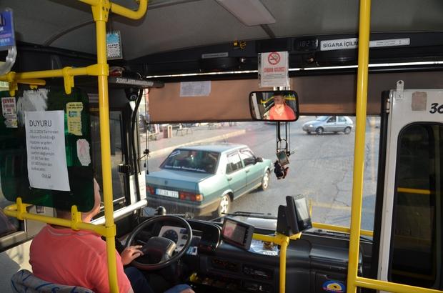 Alaplı Özel Halk otobüsü 'akıllı' oluyor