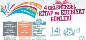 Kuşadası Belediyesi 4. Kitap ve Edebiyet Günleri 14 Ağustos'ta başlıyor