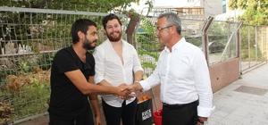 Başkan Köşker, Gebze esnafını ziyaret etti
