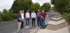 İznik kırsalı sıcak asfaltla donatıldı