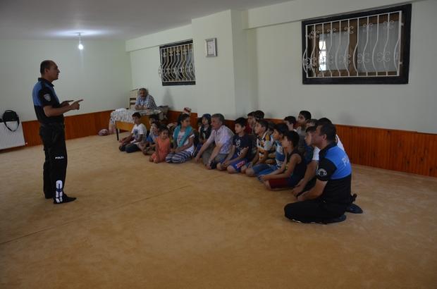 Kur'an Kursu öğrencilerine 'Boğulma' anlatıldı