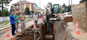SASKİ Genel Müdürü Keleş, Akyazı ve Karapürçek ilçelerindeki projeleri inceledi