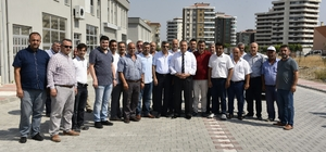 Başkan Çerçi tekstilcilerle buluştu