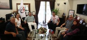 Olimpiyat Şampiyonu Yasin'den Kesimoğlu'na Ziyaret
