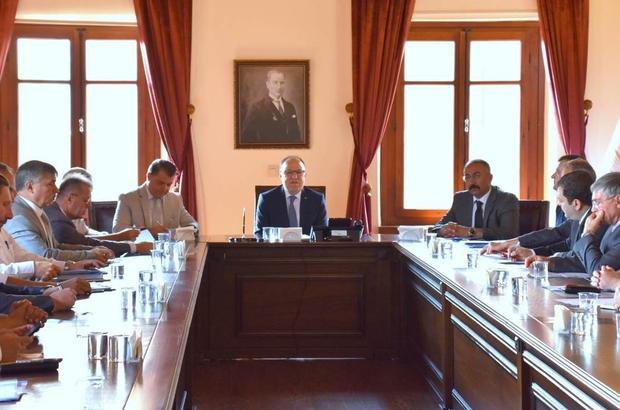 Afyonkarahisar'da İl Spor Güvenlik Kurulu toplantısı yapıldı