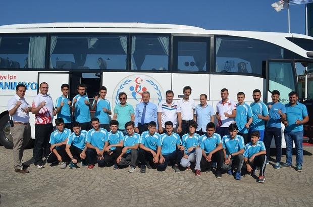 Erzurum'un karate kervanı İran yollarında
