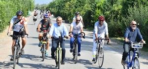 """Başkan Kocaoğlu: """"İzmir bisiklet kenti olmalı"""""""