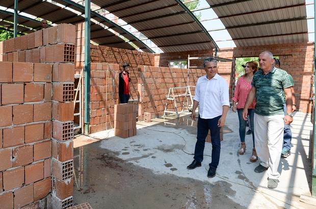 Muratpaşa 3. Eğitim ve Bilgi Merkezi'ni inşa ediyor