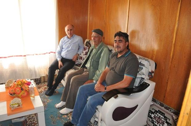 Karaman Valisi Meral, şehit ailesini ziyaret etti,