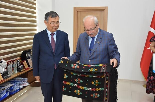 Güney Kore İstanbul Başkonsolosu Cheol Tekirdağ'da