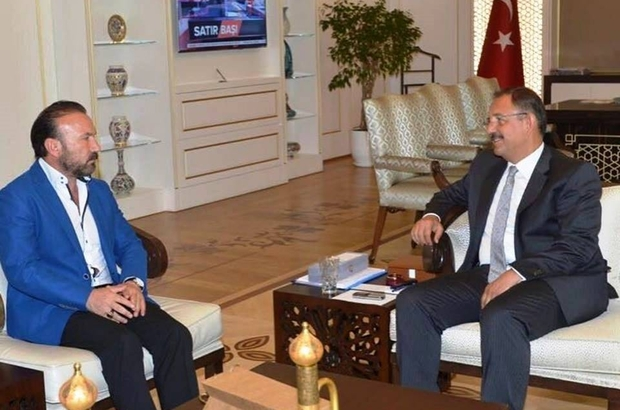 Başkan Doğan, Bakan Özhaseki'yi ziyaret etti