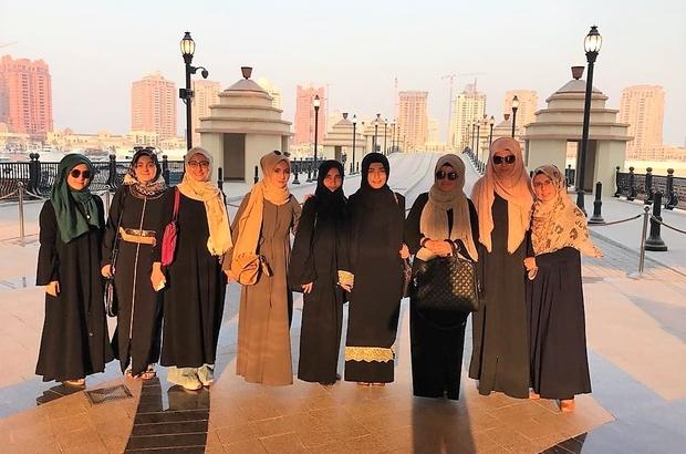 Katar Arapça yaz kursu sona erdi