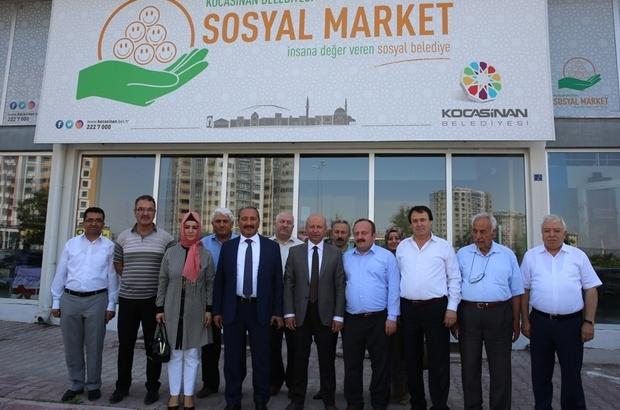 Kocasinan Belediyesi 'Sosyal Market' projesiyle muhtaçları yalnız bırakmıyor
