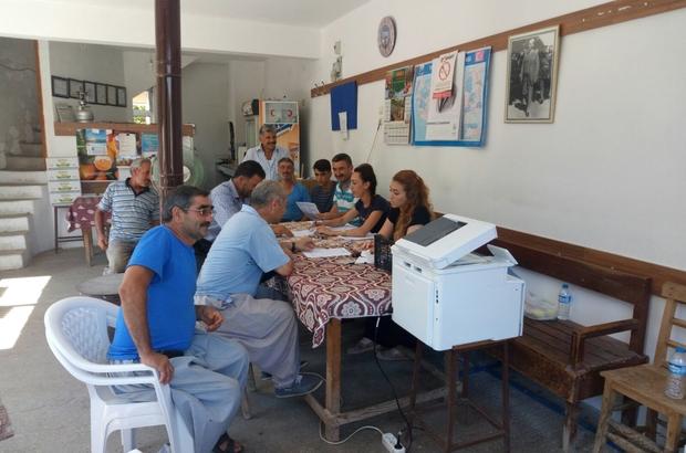 MESKİ, merkez kırsal mahallelerde abone güncellemelerine devam ediyor