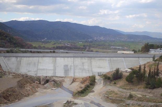 Gökbel Barajı'nda çalışmalar hızla devam ediyor