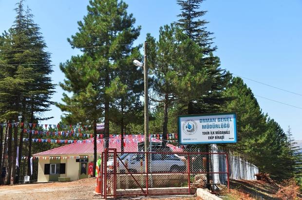 Tekir İlk Müdahale Ekip Binası hizmete açıldı