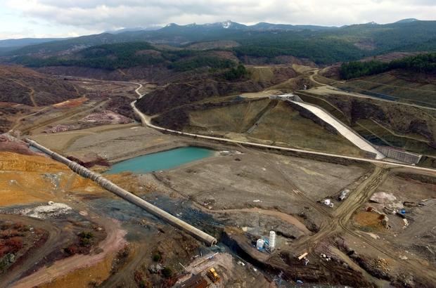Muratdağı Barajı'ndan 31 bin 450 dekar zirai arazi sulanacak