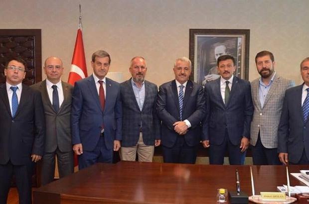 Bakan Ahmet Arslan'dan termal yolun yapılmasını istediler