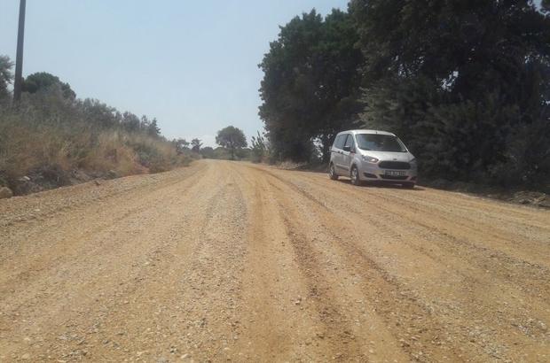 Soma yolları asfalta hazırlanıyor