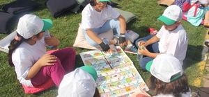 Gaziosmanpaşalı çocuklar zeka oyunları etkinliğiyle düşünerek eğlendi