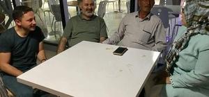 Vali Şimşek ve Milletvekili Kavaklıoğlu'dan Baba Halisdemir'e ziyaret