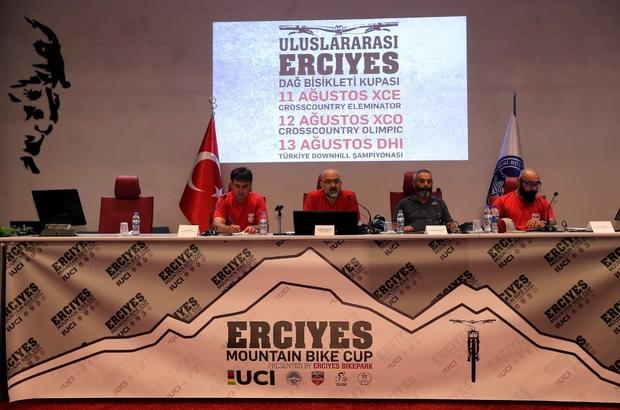 Dağ Bisikleti Kupası yarışları Erciyes'te başlıyor