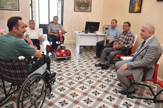 Engellilerden Vali Güvençer'e 'Asansör arızası giderilsin' talebi