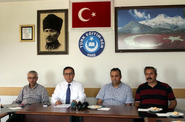 Türk Eğitim-Sen Kayseri 1 No'lu Şube Başkanı Ali Benli: