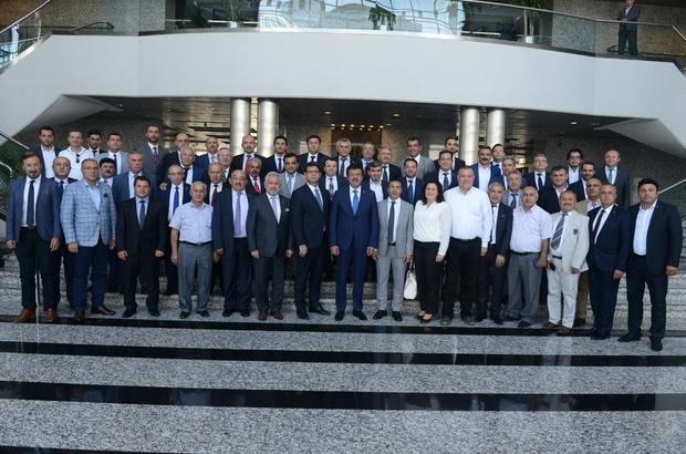 DTO'dan Bakan Zeybekci'ye güçlü destek