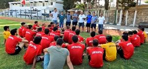 Çeşme Belediyespor yeni sezonun ilk antrenmanını yaptı